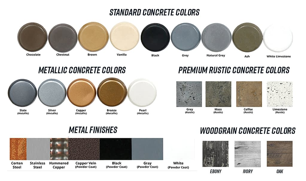 The Outdoor Plus Color Swatch