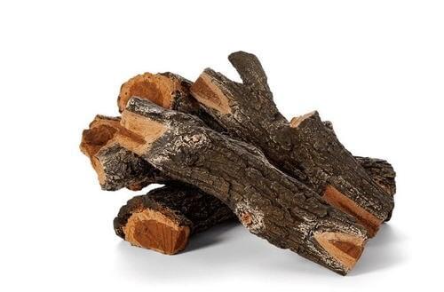 "Arizona Weathered Oak Outdoor Fire Logs 30-36"""