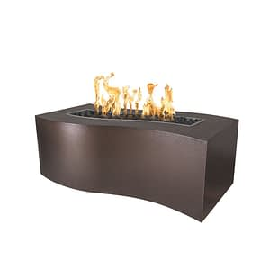 Billow Fire Pit - Copper Vein