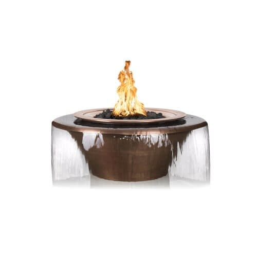 Cazo 360 Coper Fire and Water Bowl