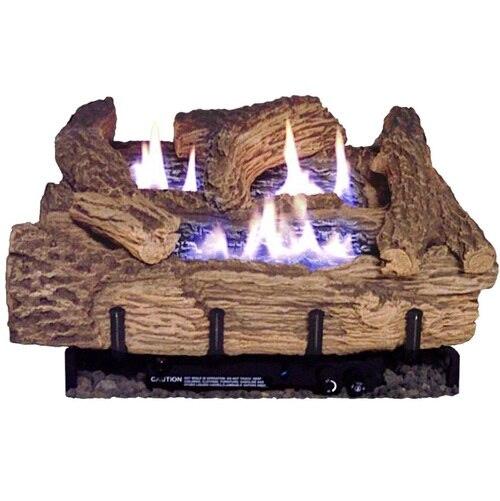 EverWarm 18 Inch Palmetto Log Set with Burner