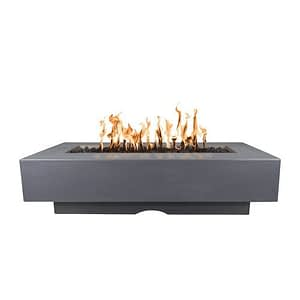 Del Mar Fire Pit with Gray Finish