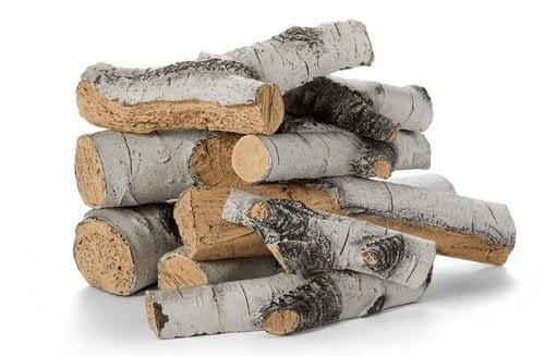 """Aspen Birch Outdoor Fire Logs 18""""-24"""""""