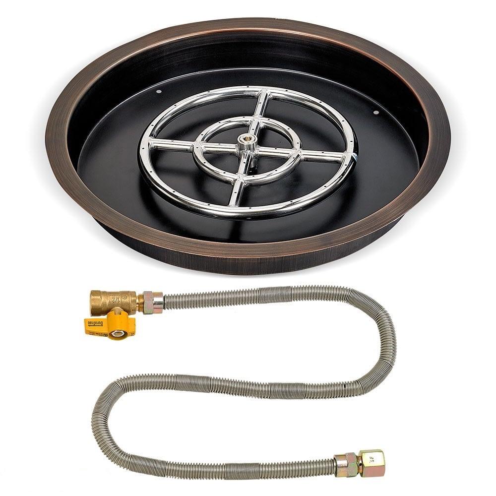 Round Bronze Match Light Kit OB-RSPMKIT - American Fireglass