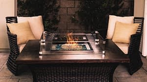 Fire Pit Wind Guards