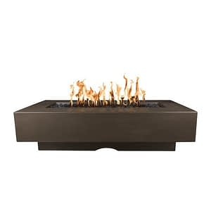 Del Mar Fire Pit with Chocolate Finish