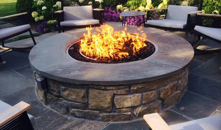 Fire Built with Enclosure