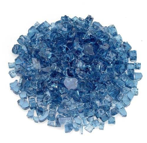 "1/2"" Pacific Blue Classic Fire Glass"