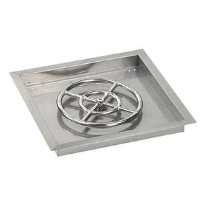 Square Stainless Steel Drop In Tray