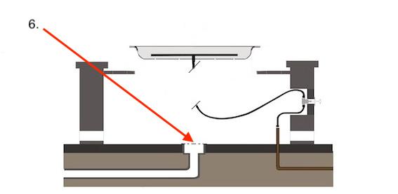 Fire Pit Structure - Drainage
