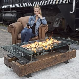 Trackside Fire Pit