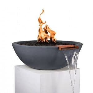 Sedona Fire and Water Bowl - GREY