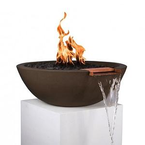 Sedona Fire and Water Bowl - CHOCOLATE