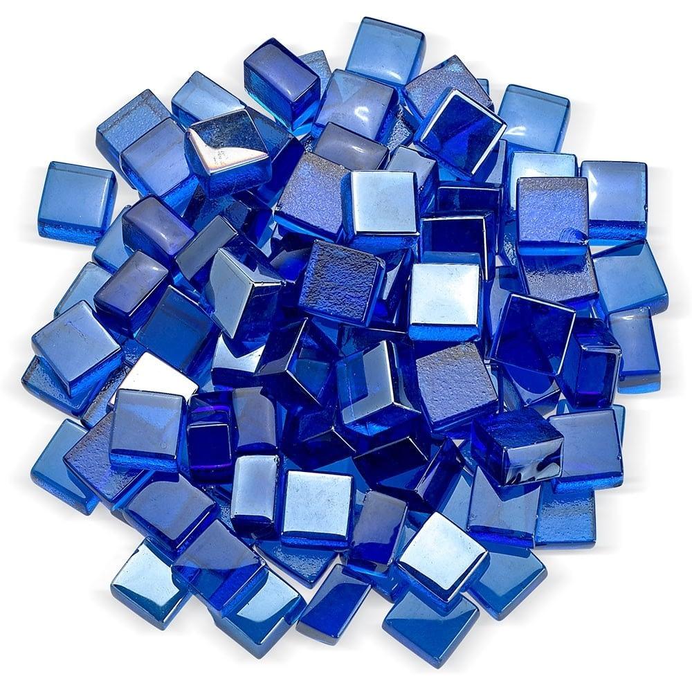 """1/2"""" Cobalt Luster Fire Glass 2.0"""