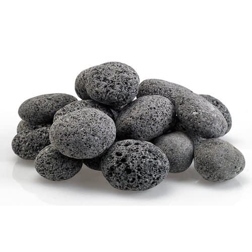Large Gray Tumbled Lava Stone