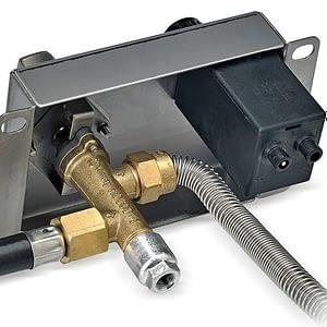Round Drop-In Pan with Flame Sensing Kit / American Fireglass
