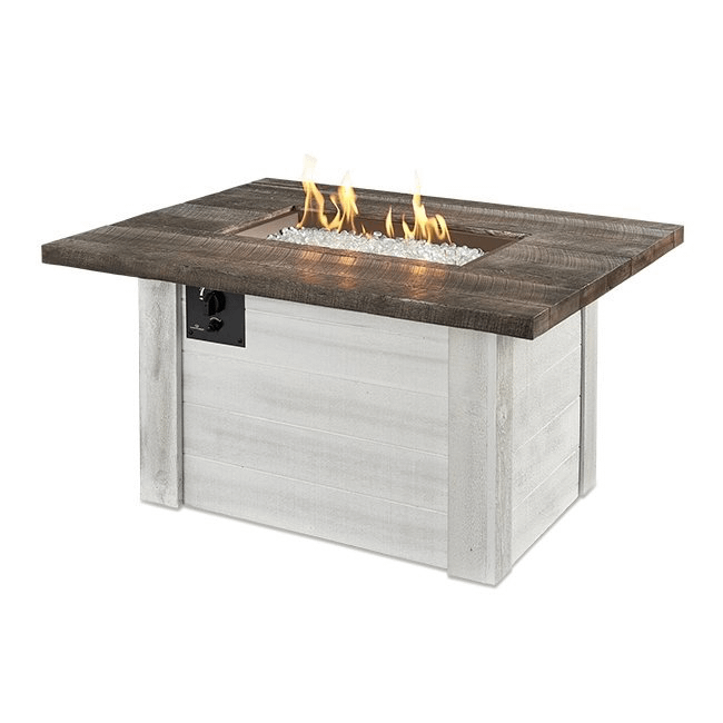 Alcott Rectangular Gas Fire Pit