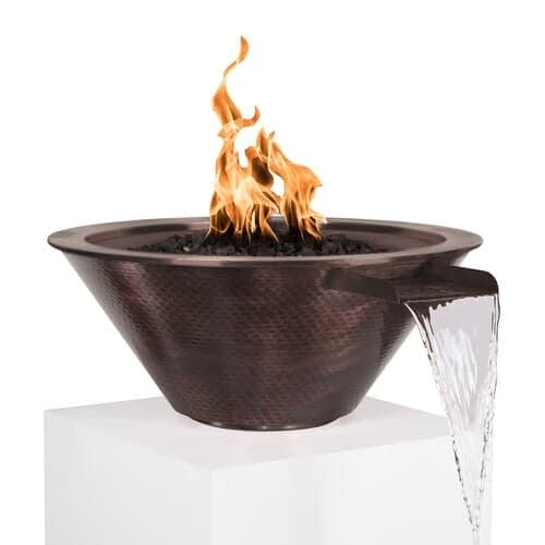 Cazo Copper Fire and Water Bowl