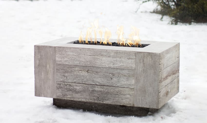 Catalina Fire Pit In the Snow
