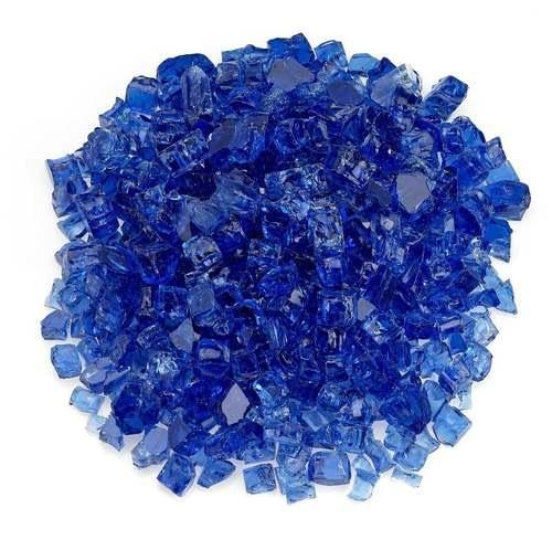 """1/2"""" Cobalt Blue Classic Fire Glass"""