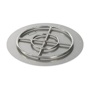 Flat Round Pan And Burner
