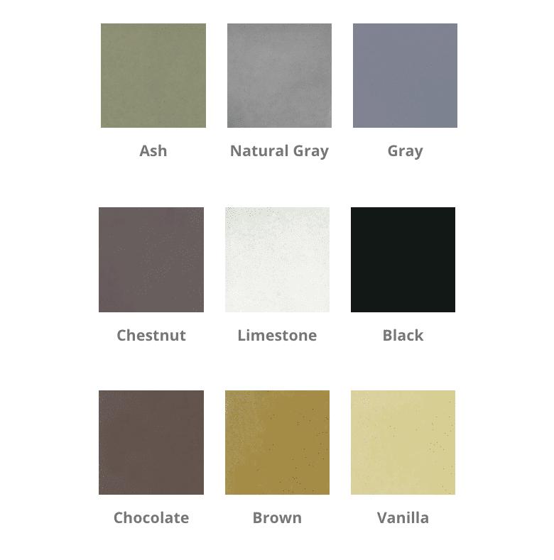 Sedona Fire Bowl Standard Colors