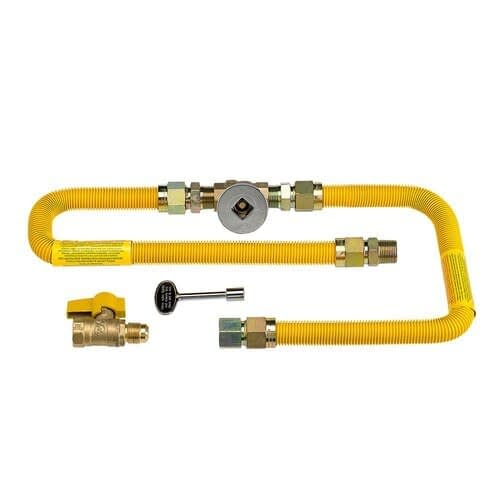 High Capacity Flex Line Gas Connection Kit