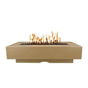 Del Mar Fire Pit with Brown Finish