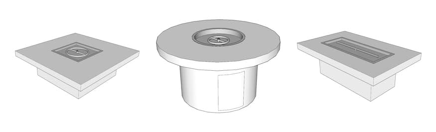 TOPs Table Style Enclosures