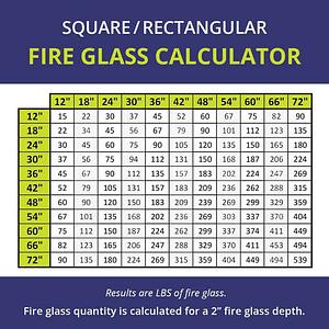 """Classic Fire Glass 1/4"""" Azuria - 10 lb"""