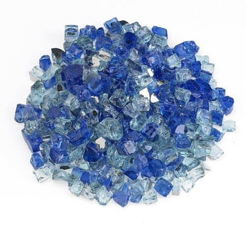 Bora Bora Reflective Fire Glass - 10 lb Bag