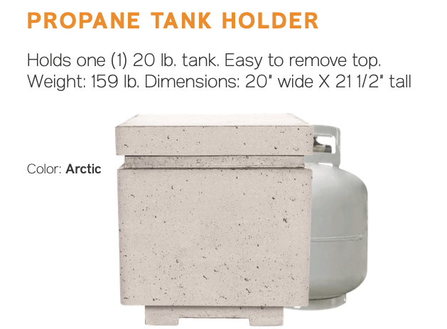 Sanctuary Propane Tank Holder