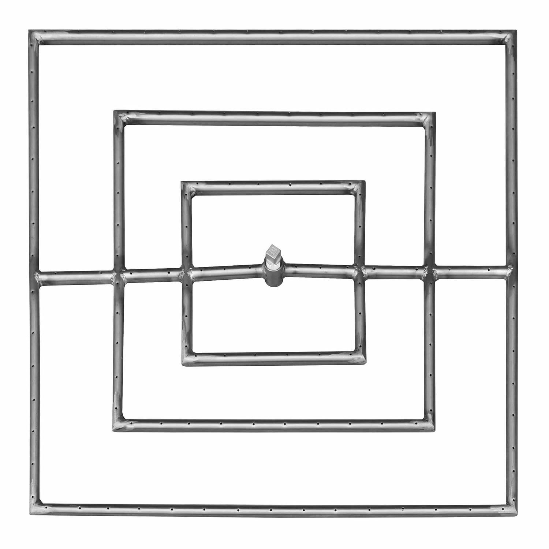 Square Burner - The Outdoor Plus