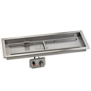 Rectangular Drop-In Pan with Flame Sensing Kit