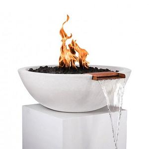 Sedona Fire and Water Bowl - LIMESTONE