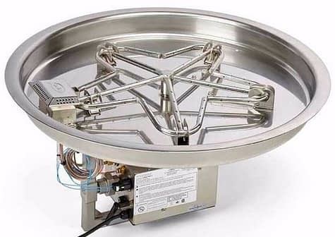 HPC Fire Round Drop In Tray with Electronic Ignition