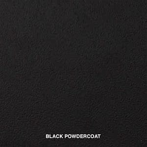 BLACK POWDERCOAT SWATCH
